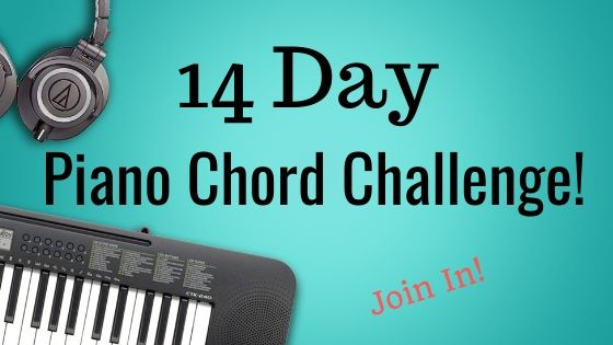 14 Day Piano Chord Challenge