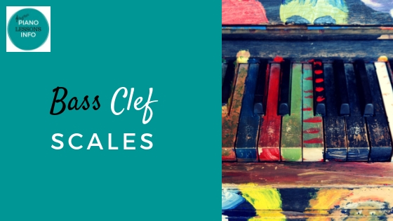 Bass Clef Scales