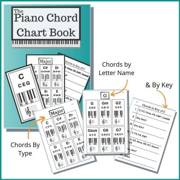 Piano Chord Chart Book