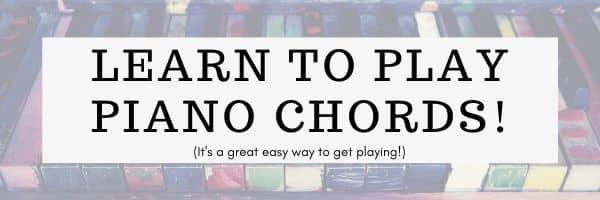 Easy Piano Lessons: Piano CHords