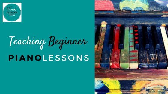 Teaching Beginner Piano Lessons