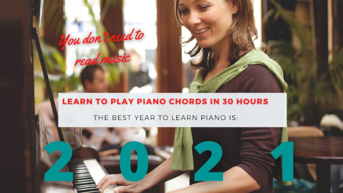 Piano chords course