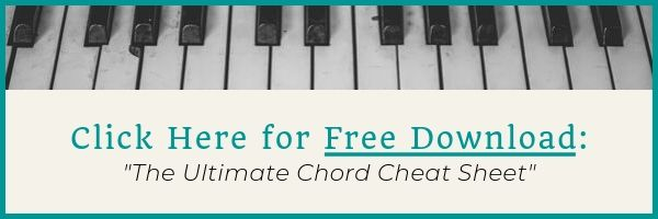 Free Download of Ultimate Chord Cheat Sheet