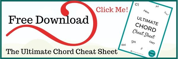 Download the Ultimate Chord Cheat Sheet