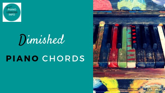 Diminished Piano Chords