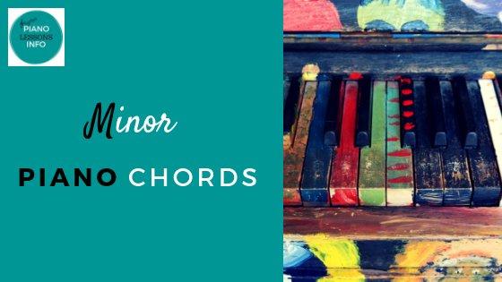 Minor Piano Chords